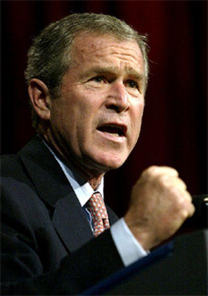 Bush, en un acto de la Asociación de Gobernadores Republicanos.