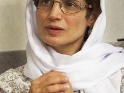 Nasrín Sotudeh, abogada y activista, premio Sajárov 2012.
