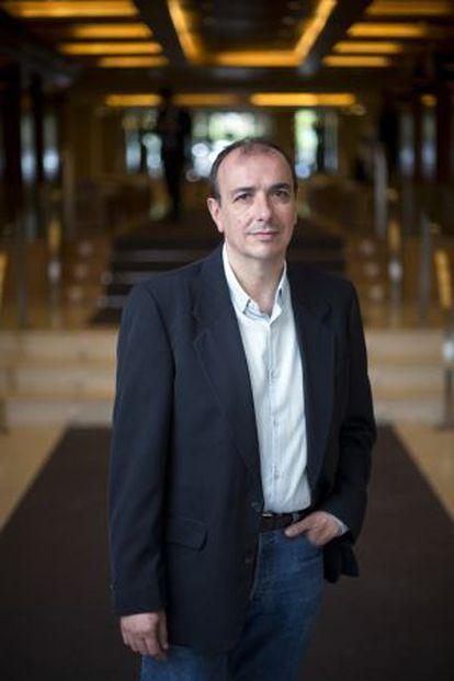 Esteban Hernández, periodista.