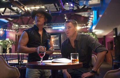 Fotograma de 'Magic Mike', con Matthew McConaughey y Channing Tatum.