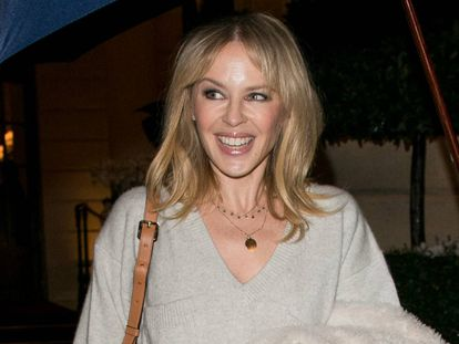 Kylie Minogue, esta semana en París.