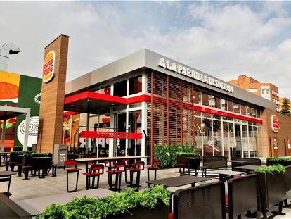 Restaurante de Burger King en Madrid, en una imagen de archivo.