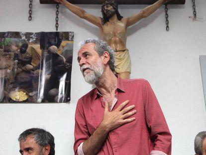Willy Toledo, en una rueda de prensa el pasado mayo en Madrid. En vídeo, Willy Toledo será procesado por ofender a los sentimientos religiosos.