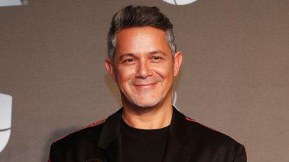 Alejandro Sanz, en los premios Grammy Latino celebrados en noviembre de 2019 en Las Vegas (Nevada, EE UU).