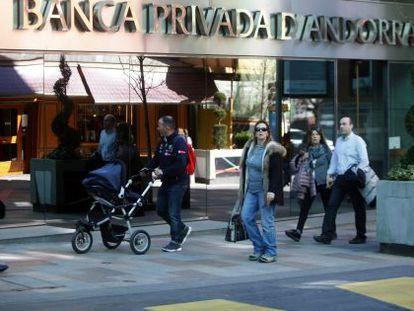 Sede central de Banca Privada de Andorra.