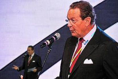 El presidente de la Confederación de Empresas Europeas (BusinessEurope), Jürgen Thumann. EFE/Archivo