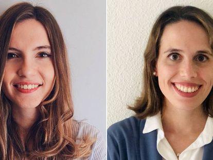 María Sánchez y Raquel Martínez, responsable del programa de fidelización de EL PAÍS.