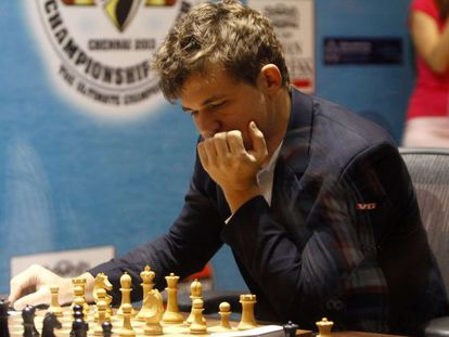 Magnus Carlsen, en una imagen de 2013.