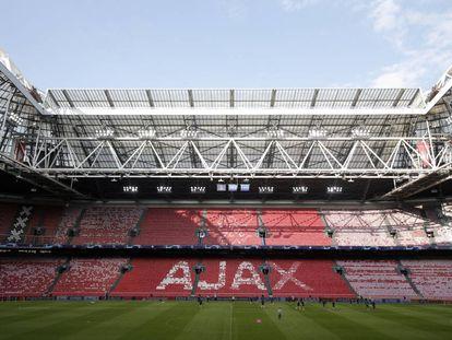 El estadio Johan Cruyff Arena, en Amsterdam.