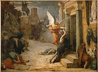 'Peste en Roma' (1869), de Jules-Élie Delaunay.