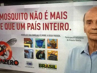 Campaña contra el zika en Brasil.