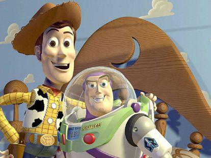 Woody y Buzz, protagonistas de la saga Toy Story.
