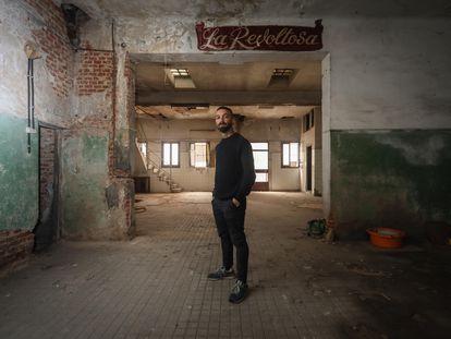 Narciso Bermejo, gastrónomo madrileño que está coordinando la apertura de 11 locales en el barrio de Puerta del Ángel de la mano de propietarios y vecinos. Foto: Kike Para
