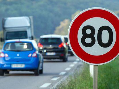 Francia reducirá la velocidad máxima en carreteras secundarias a 80km/h a partir del 1 de julio