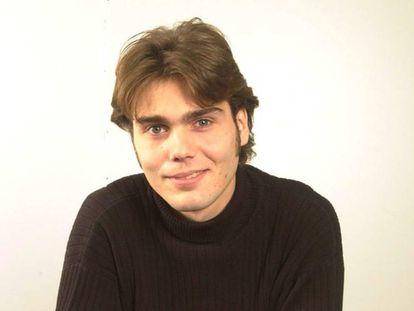 Carlos Navarro en 2001, cuando participó en 'Gran Hermano', en una foto promocional.