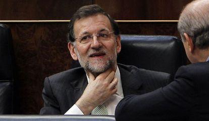El presidente del Gobierno, Mariano Rajoy, el pasado 29 de abril en el Congreso.