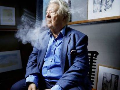 El dibujante francés Jean-Jacques Sempé, en París en 2016.