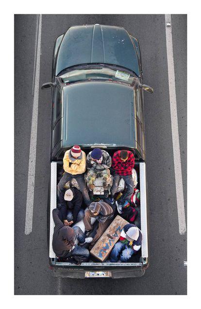 Imagen de la serie 'The Carpoolers' (2011-20129, de Alejandro Cartagena.