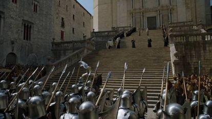 La catedral de Girona fue parte de Desembarco del Rey en 'Juego de tronos'.