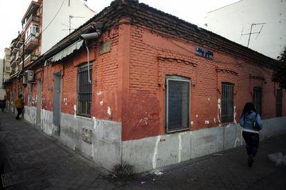 Exterior del inmueble de la calle de Peironcely, 10.