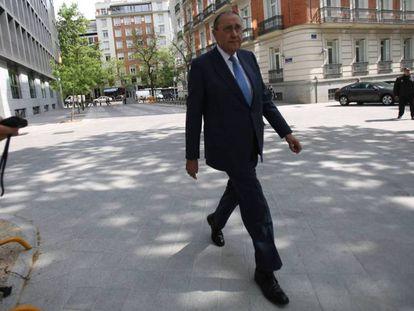 Mauricio Casals, en la Audiencia Nacional, en abril de 2017.