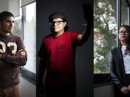Algunos de los 'líderes' del YoSoy132 cuentan su visión del movimiento.