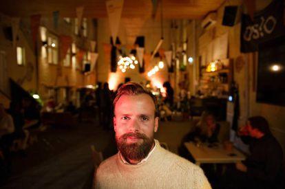 El cofundador y CEO de Kahoot Johan Brand en Oslo.