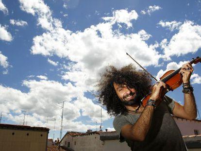 El violinista armenio Ara Malikian, en Madrid en 2013.