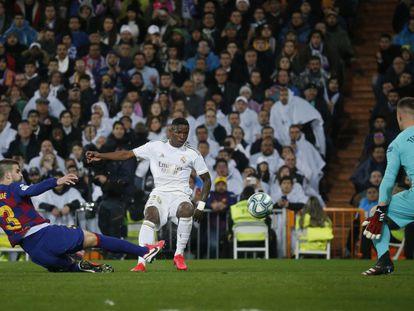El Real Madrid y el Barcelona se enfrentaban en el clásico de La Liga el pasado mes de marzo.
