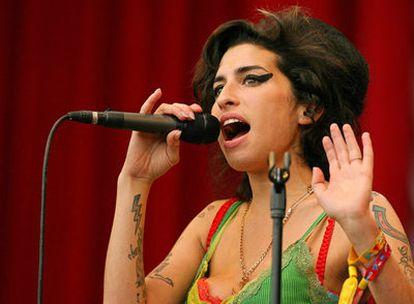 La cantante Amy Winehouse en una foto de archivo