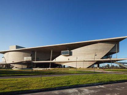 La nueva Cidade das Artes diseñada por Christian de Portzamparc en Río de Janeiro.