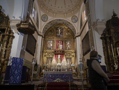 Capilla de la iglesia de San Lorenzo, en Sevilla.