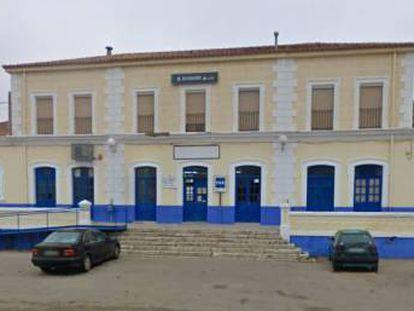 Imagen de Google Maps de la estación de Almagro.