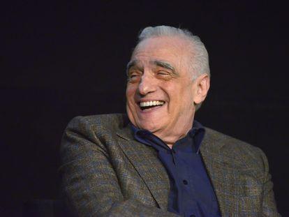 Martin Scorsese, en un coloquio en enero tras una proyección de 'El irlandés' en el Teatro Egipcio de Hollywood.