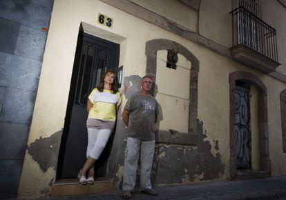 María Sánchez y José Pablo son dos de los perjudicados por Airbnb
