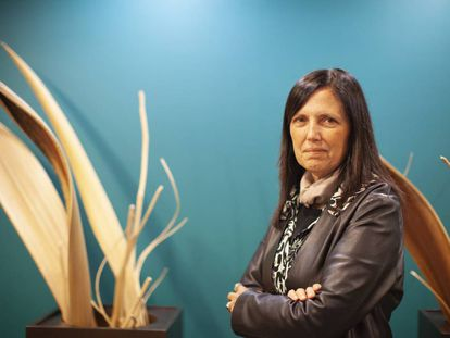 La escritora argentina Claudia Piñeiro en Guadalajara (México).