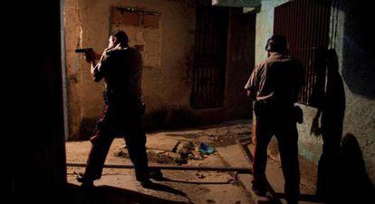Imagen tomada en 2014 en la morgue de Caracas, una de las ciudades con mayor índice de violencia.