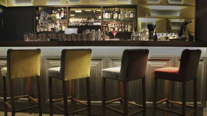 Interior del bar Angelita, en Madrid.