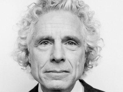 Steven Pinker, catedrático de Harvard, en una imagen de archivo de 2019.  En vídeo, su entrevista.