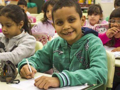 Clase en una escuela pública de Sao Paulo. / A2 FOTOGRAFIA/ RAFAEL LASCI