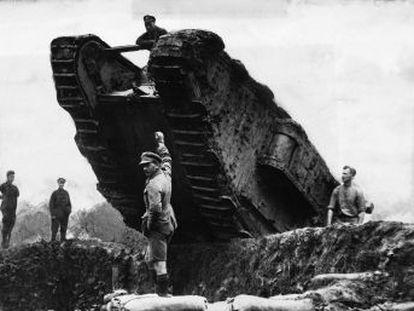El tanque, icono de la violencia moderna, apareció por primera vez hace un siglo, en la batalla del Somme