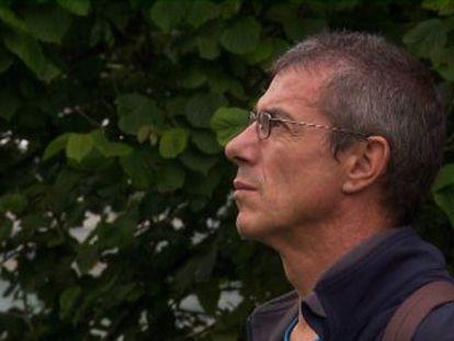 Fotograma de la película 'Al final del túnel' donde aparece el expreso Juan Carlos Ioldi