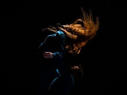 Un detalle de la coreografía de Chevi Muraday.