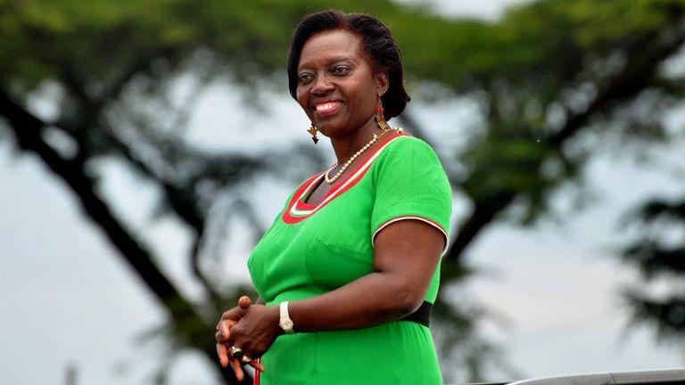 Martha Karua, exministra de Justicia en Kenia.