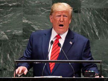 El presidente se muestra menos beligerante con Irán y Venezuela