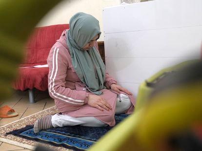 Mihriban Kader, residente en Italia, ya no tiene muchas esperanzas de volver a sus cuatro hijos, que se quedaron en China.