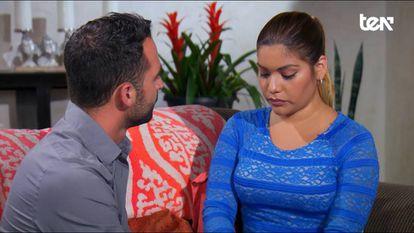 Una imagen de 'Casados a ciegas', emitido en Ten