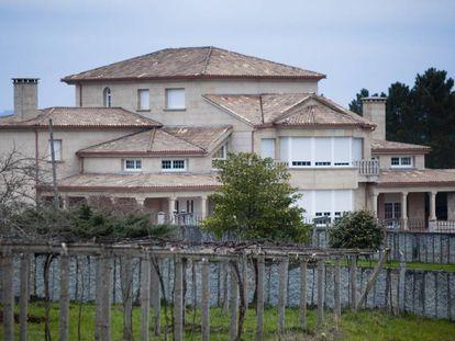 Vivienda de Manuel Gulías, en la parroquia de Dornelas de Silleda, Pontevedra