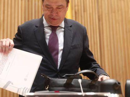 Luis Planas, en el Congreso de los Diputados. En vídeo, Planas anuncia las reformas tras el Consejo de Ministros de este martes.