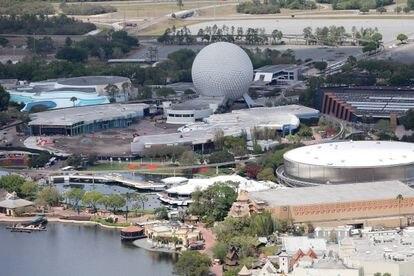 Vista general de las instalaciones de Disney World en Orlando (EE UU).